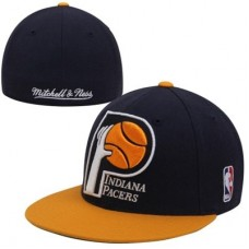 Indiana Pacers - XL Logo Fitted  NBA Čiapka