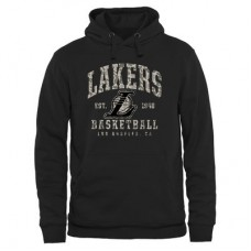 Los Angeles Lakers - Camo Stack NBA Mikina s kapucňou