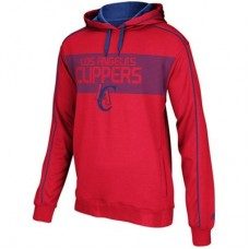 Los Angeles Clippers - Striped Pullover NBA Mikina s kapucňou