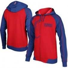 Los Angeles Clippers - Courtside Full Zip  NBA Mikina s kapucňou