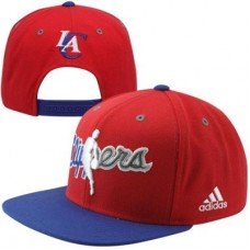Los Angeles Clippers - Flat Brim Adjustable  NBA Čiapka