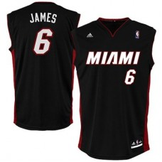 Miami Heat - Lebron James Replica NBA Dres