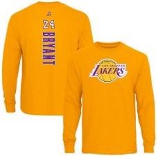 Los Angeles Lakers - Kobe Bryant Backer NBAp Tričko s dlhým rukávom