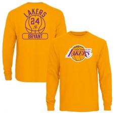 Los Angeles Lakers - Kobe Bryant Core Issued NBAp Tričko s dlhým rukávom