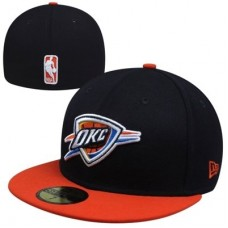 Oklahoma City Thunder - Team Logo Fitted  NBA Čiapka