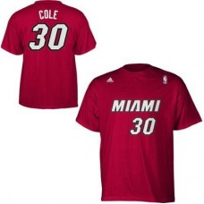 Miami Heat - adidas Norris Cole NBAp Tričko