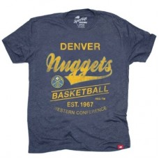 Denver Nuggets -Comfy Globe Tri-Blend NBA tričko