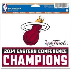 Miami Heat - 2014 Eastern Conference Champs NBA nálepka