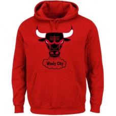 Chicago Bulls - Classics Tech Patch NBA Mikina s kapucňou