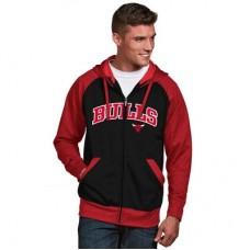 Chicago Bulls - Strategy Raglan NBA Mikina s kapucňou