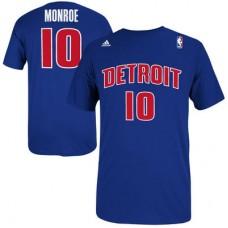 Detroit Pistons - Greg Monroe Net Number NBA Tričko