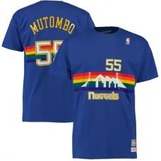 Denver Nuggets - Dikembe Mutombo Hardwood Classics NBA Tričko
