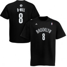Brooklyn Nets - Deron Williams D-Will Net Number NBA Tričko