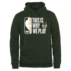 Milwaukee Bucks - This Is Why We Play NBA Mikina s kapucňou