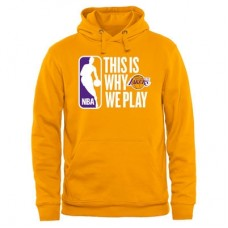 Los Angeles Lakers - This Is Why We Play NBA Mikina s kapucňou