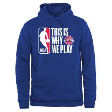 Detroit Pistons - This Is Why We Play NBA Mikina s kapucňou