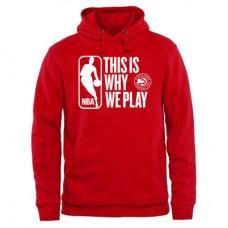 Atlanta Hawks - This Is Why We Play NBA Mikina s kapucňou