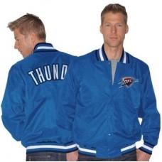 Oklahoma City Thunder - Heritage Varsity Satin Fan MLB Bunda