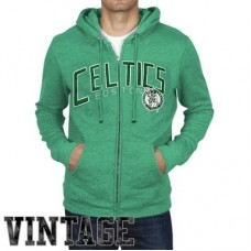 Boston Celtics - Half Time Full Zip NBA Mikina s kapucňou