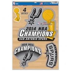 San Antonio Spurs - 2014 WinCraft Champs NBA nálepka