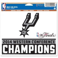 San Antonio Spurs - 2014 Western Conference Champs NBA nálepka