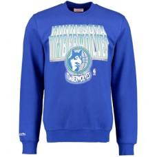Minnesota Timberwolves - Block and Blur Crew Fleece NBA Mikina