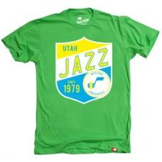 Utah Jazz - Neon Cornbread Fan NBA Tričko