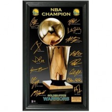 Golden State Warriors - 2015 Finals Champions Signature Trophy NHL Obraz