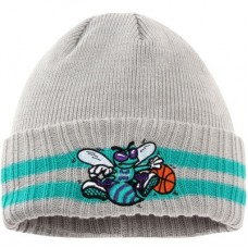 Charlotte Hornets - 2 Striped Cuffed NBA knit Čiapka
