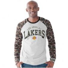 Los Angeles Lakers - Camo Jersey NBA Tričko s dlhým rukávom