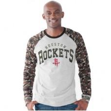 Houston Rockets - Camo Jersey NBA Tričko s dlhým rukávom