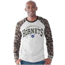 Charlotte Hornets - Camo Jersey NBA Tričko s dlhým rukávom
