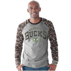 Milwaukee Bucks - Camo Jersey NBA Tričko s dlhým rukávom