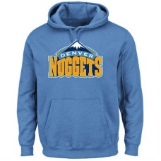 Denver Nuggets - Logo Tech Patch NBA Mikina s kapucňou