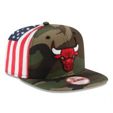 Chicago Bulls - Flag Side Original Fit 9FIFTY NBA Čiapka