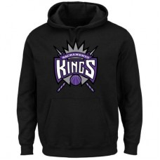 Sacramento Kings - Logo Tech Patch NBA Mikina s kapucňou