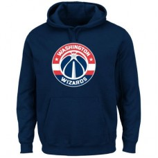 Washington Wizards - Logo Tech Patch NBA Mikina s kapucňou