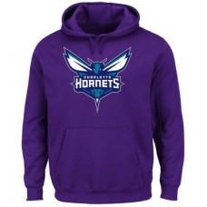 Charlotte Hornets - Logo Tech Patch NBA Mikina s kapucňou