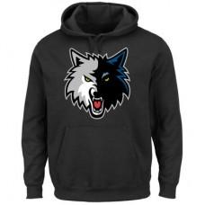 Minnesota Timberwolves - Logo Tech Patch NBA Mikina s kapucňou