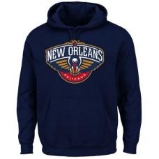 New Orleans Pelicans - Logo Tech Patch NBA Mikina s kapucňou
