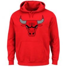 Chicago Bulls - Logo Tech Patch NBA Mikina s kapucňou