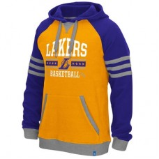 Los Angeles Lakers - Adidas Originals NBA Mikina s kapucňou