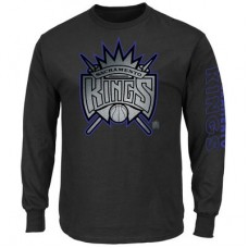 Sacramento Kings - Up and Over NBA Tričko s dlhým rukávom