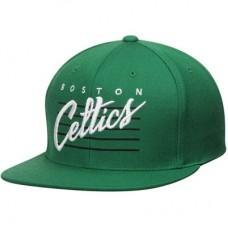Boston Celtics - Hardwood Classics Cursive Retro Script Snapback NBA Čiapka