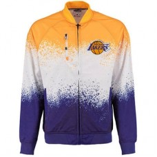 Los Angeles Lakers - Zipway Retro Pop Full-Zip NBA Bunda