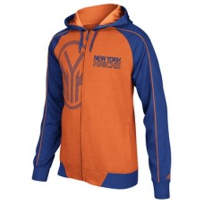 New York Knicks - Pindot Full-Zip Fan NBA Mikina s kapucňou