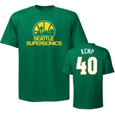 Seattle SuperSonics - Shawn Kemp Hardwood Classic Fan NBA Tričko