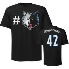 Minnestota Timberwolves - Kevin Love Twitter FF NBA Tričko