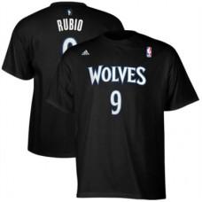 Minnestota Timberwolves - Ricky Rubio Net Number FF NBA Tričko