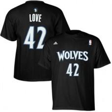 Minnestota Timberwolves - Kevin Love Net Number FF NBA Tričko